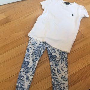 Ralph Lauren leggings and shirt